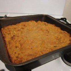 Carrot Apple Pineapple Cake recipe