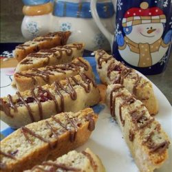 Cranberry White Chocolate Biscotti recipe