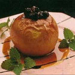 Baked Apples With Caramel Sauce recipe