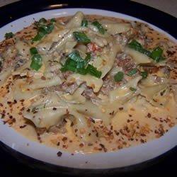 Richard and Suzanne's Louisiana Crawfish Pasta recipe
