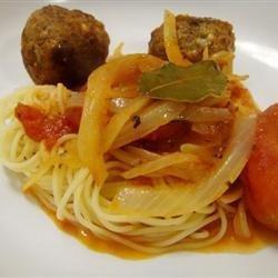 RO's Spaghetti and Meatballs recipe