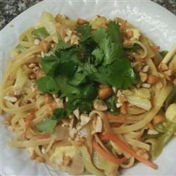 Thai Noodles and Chicken recipe
