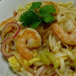 My Husband's Pad Thai Noodles recipe