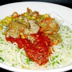 Chicken Spaghetti IV recipe