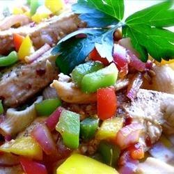 Thai Style Chicken Pasta recipe