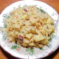Curried Salmon Pasta Salad recipe