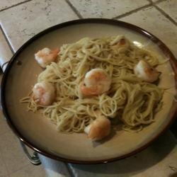 Amaretto Shrimp Almandine recipe