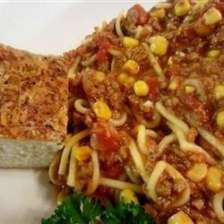 Dad's Spaghetti Soup recipe