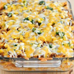 Chili Noodle Casserole recipe