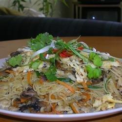 Shrimp Fried Noodles-Thai style recipe