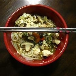 Japanese Nabeyaki Udon Soup recipe