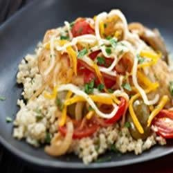 Mediterranean Chicken and Couscous recipe