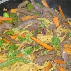 Chicken Chow Mein (West Indian Style) recipe