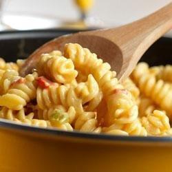 Super Simple Nacho Pasta recipe