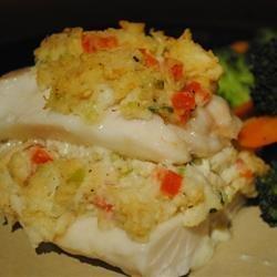 Crab Stuffed Haddock recipe