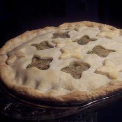 Salmon and Potato Pie recipe
