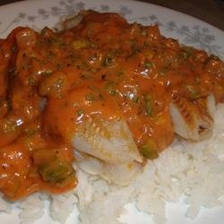 Baked Fish Creole recipe