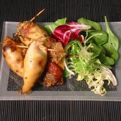 Spicy Stuffed Squid recipe