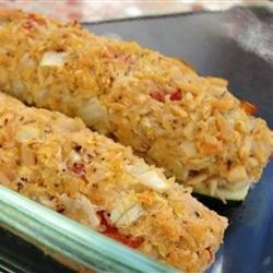 Tuna Stuffed Zucchini recipe