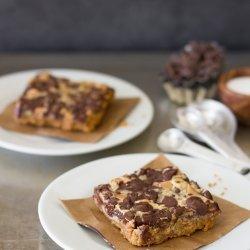 Chocolate Chip Peanut Butter Bars recipe