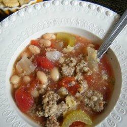 White Bean Sausage Soup recipe