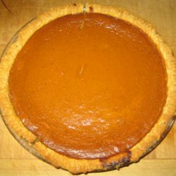 Captain Morgan's Spiced Rum Pumpkin Pie recipe