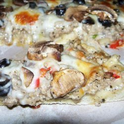 Turkey Style Pizza recipe