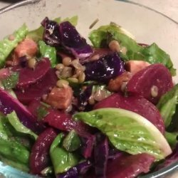 Beet and Red Cabbage Salad recipe