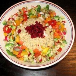 Rainbow Quinoa Salad recipe