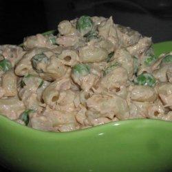 Cold Tuna Noodles recipe