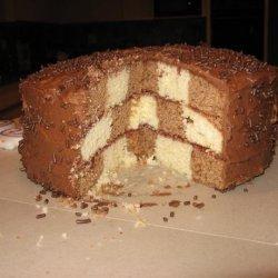 The Ultimate Checkboard Cake recipe