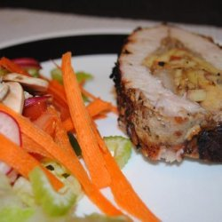 Grilled and Stuffed Colonial Pork Tenderloin recipe