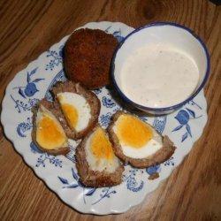 Twisted Scotch Egg #RSC recipe