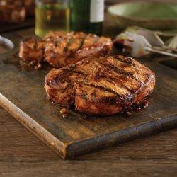 Grilled Bone-In Pork Chops With Hawaiian Marinade recipe