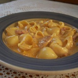 Macaroni and Cheese Soup With Ham ( Crock Pot) recipe