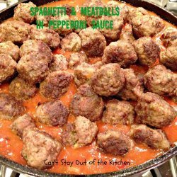Meatballs and Sauce recipe