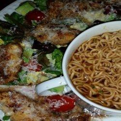 Crispy Parmesan-Panko Crusted Chicken Cutlets recipe