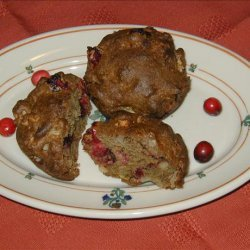 Cranberry Walnut Apple Muffins recipe