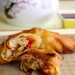 Cauliflower Egg Rolls With Sweet and Sour Sauce recipe