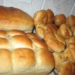 Marmie's Foolproof White Bread - Cheese and Herbs Optional recipe