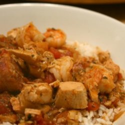 Tom's Jambalaya Gumbo Stuff recipe