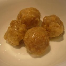 Butter Balls for Chicken Broth or Noodle Soup recipe