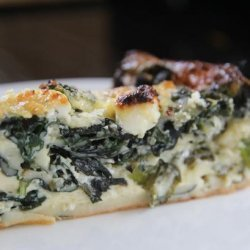 Spinach Impossible Pie recipe