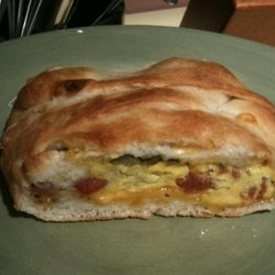Jalapeno, Sausage, Jack, and Egg Breakfast Braid recipe