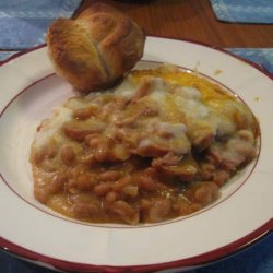 Baked Bean and Sausage Casserole recipe