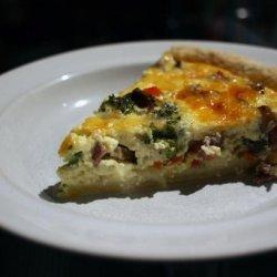 Bacon and Leek Quiche recipe