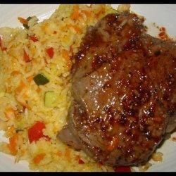 Beef Tenderloin With Creamy Risotto recipe
