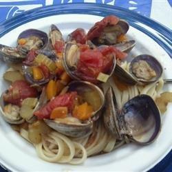 Clams Creole recipe