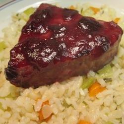Cherry Glazed Salmon recipe
