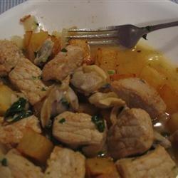 Portuguese Pork and Clams recipe